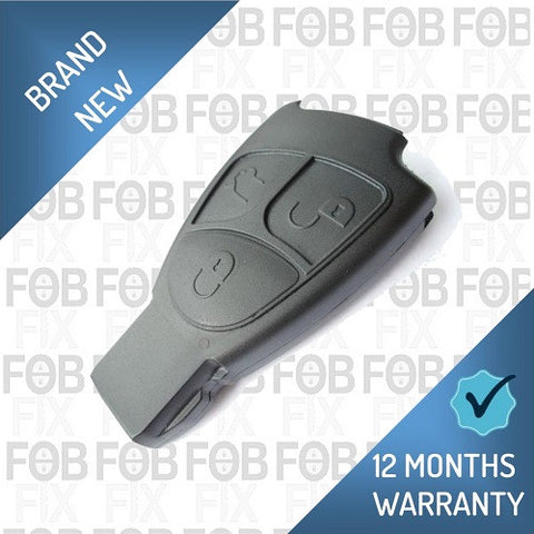 Mercedes Benz 3 button replacement key fob case