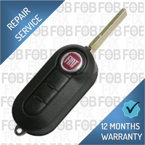 Fiat 3 button key fob repair service