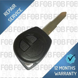 Fiat 2 button key fob repair service