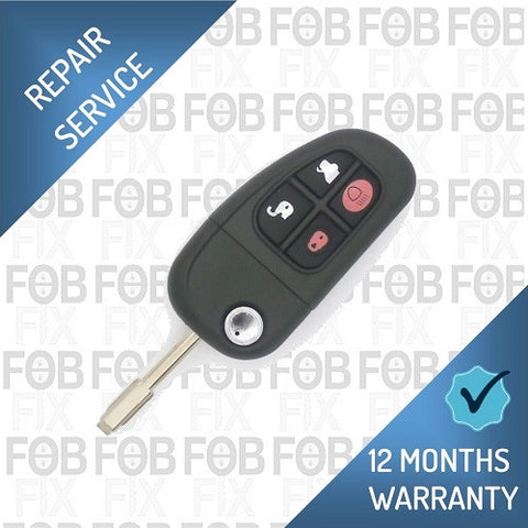 Jaguar 4 button fob repair service