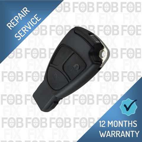 Mercedes Benz 3 button key fob repair service