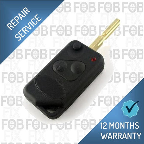 Range Rover P38 2 button key fob repair service