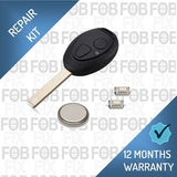 MG Rover 2 button key fob repair kit