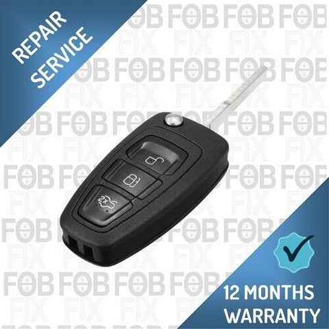 New Style Ford 3 button key fob repair service