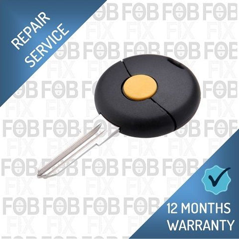 Mercedes Benz Smart 1 button key fob repair service