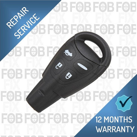 SAAB 4 button key fob repair service