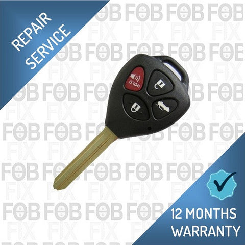 Toyota 4 button key fob repair service