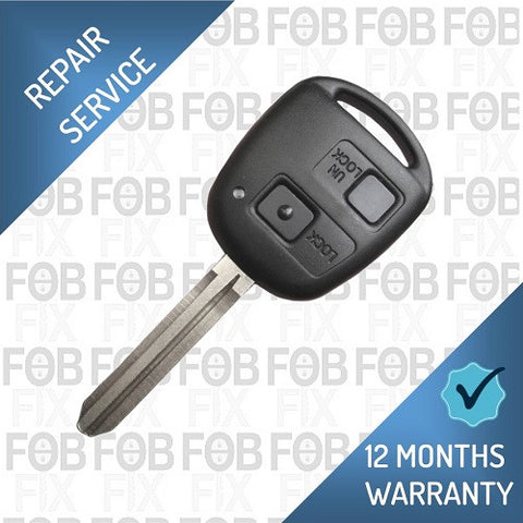Toyota 2 button key fob repair service
