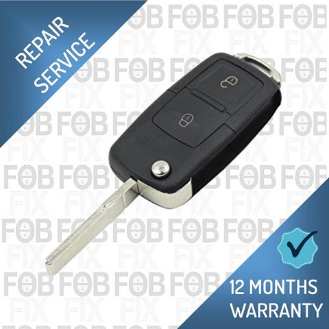 Audi 2 button key fob repair service