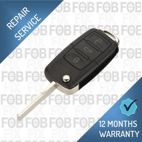 Audi 3 button key fob repair service