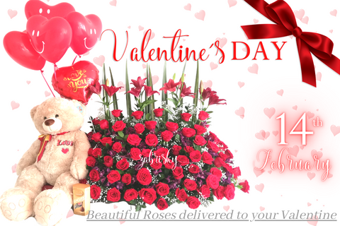 Valentine's Day is Friday, February 14, 2021 - Florist in Pereira