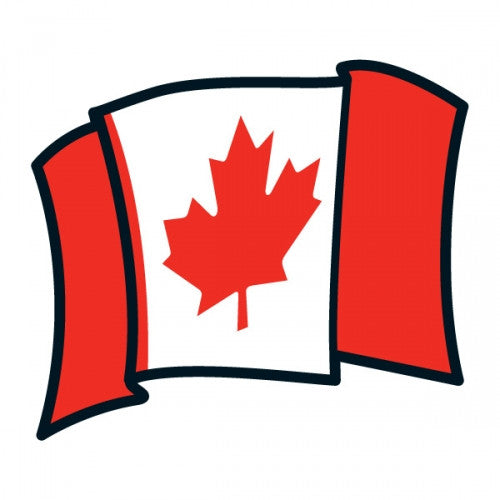 picture of Canada Day temporary tattoo design