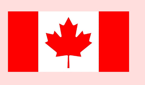 Canada Flag Temporary Tattoos 1.5 x 2