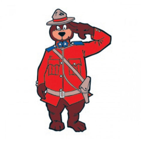 Lil Mountie Yee Haa! Temporary Tattoos