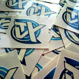 Photo of Ytv logo custom temporary tattoos, size 2 x 2