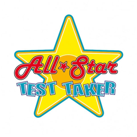 All-Start Test Taker temporary tattoo