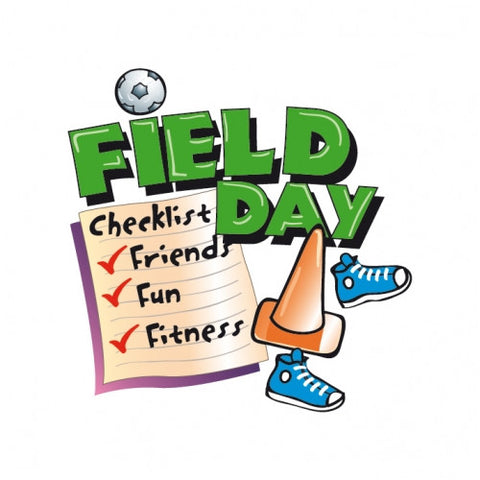 Field Day Checklist temporary tattoos