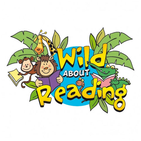 WILD ABOUT READING! Temporary Tattoo