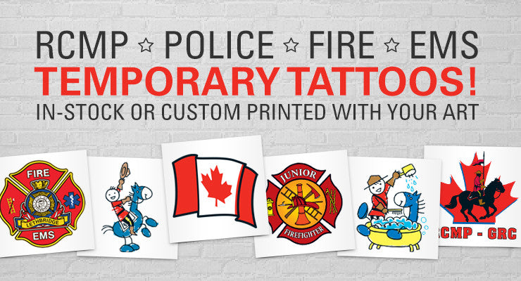 Temporary tattoos Canada