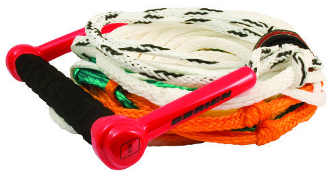 Obrien 75' 8 Section Floating Ski Rope W Team Handle