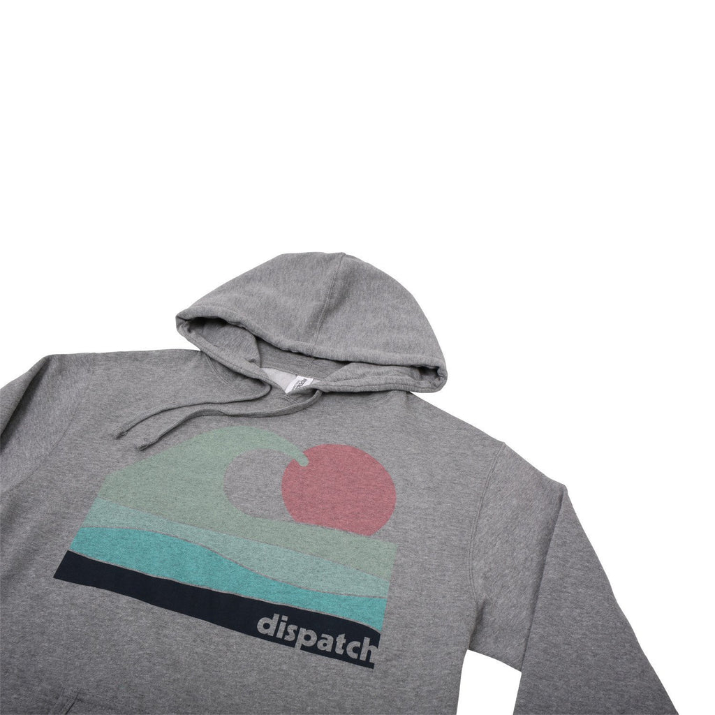 'Waves' Pull-Over Hoodie