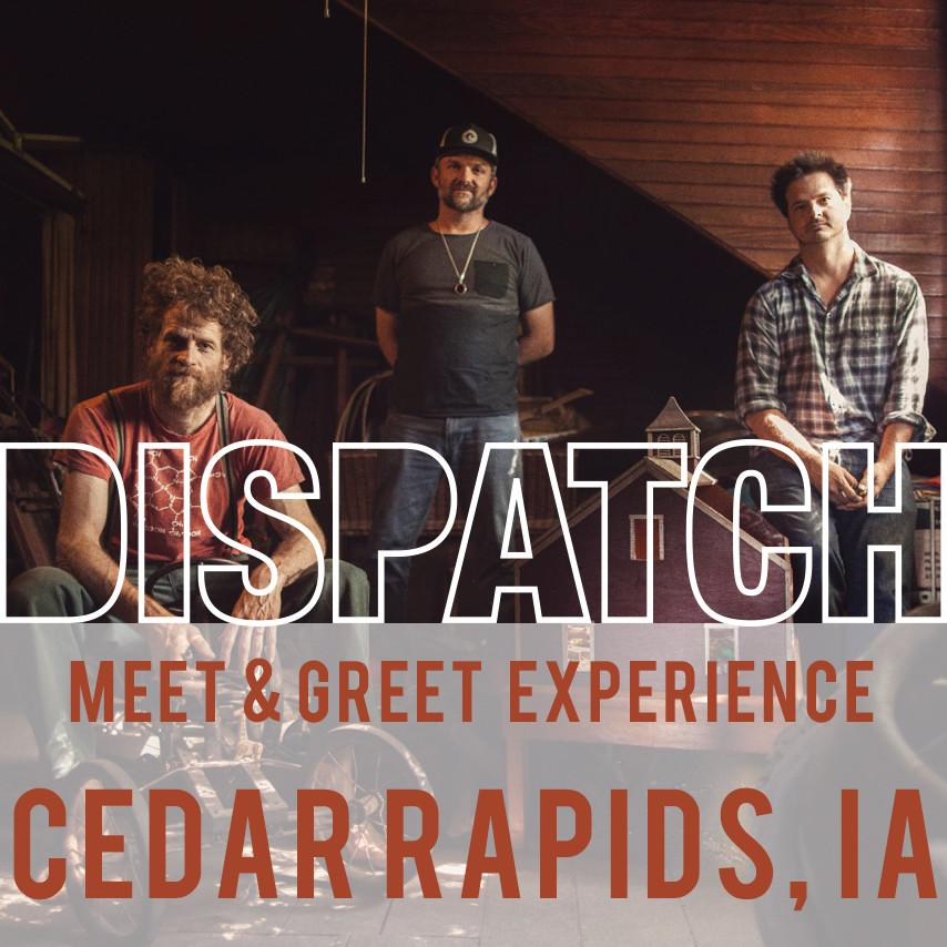 July 3 - Meet & Greet Experience - Cedar Rapids, IA