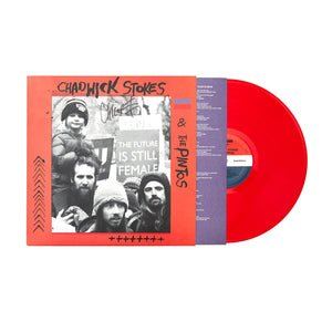 "Chadwick Stokes & The Pintos 'Self-Titled' 12"" Vinyl LP - Red"