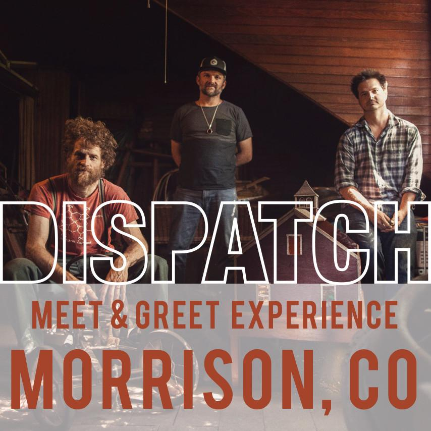 June 16 - Meet & Greet Experience - Morrison, CO