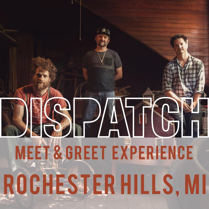 July 2 - Meet & Greet Experience - Rochester Hills, MI