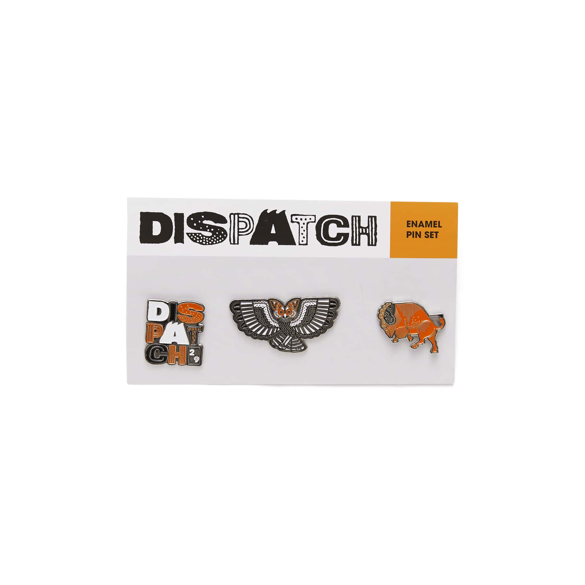 'Dispatch' Enamel Pin Set