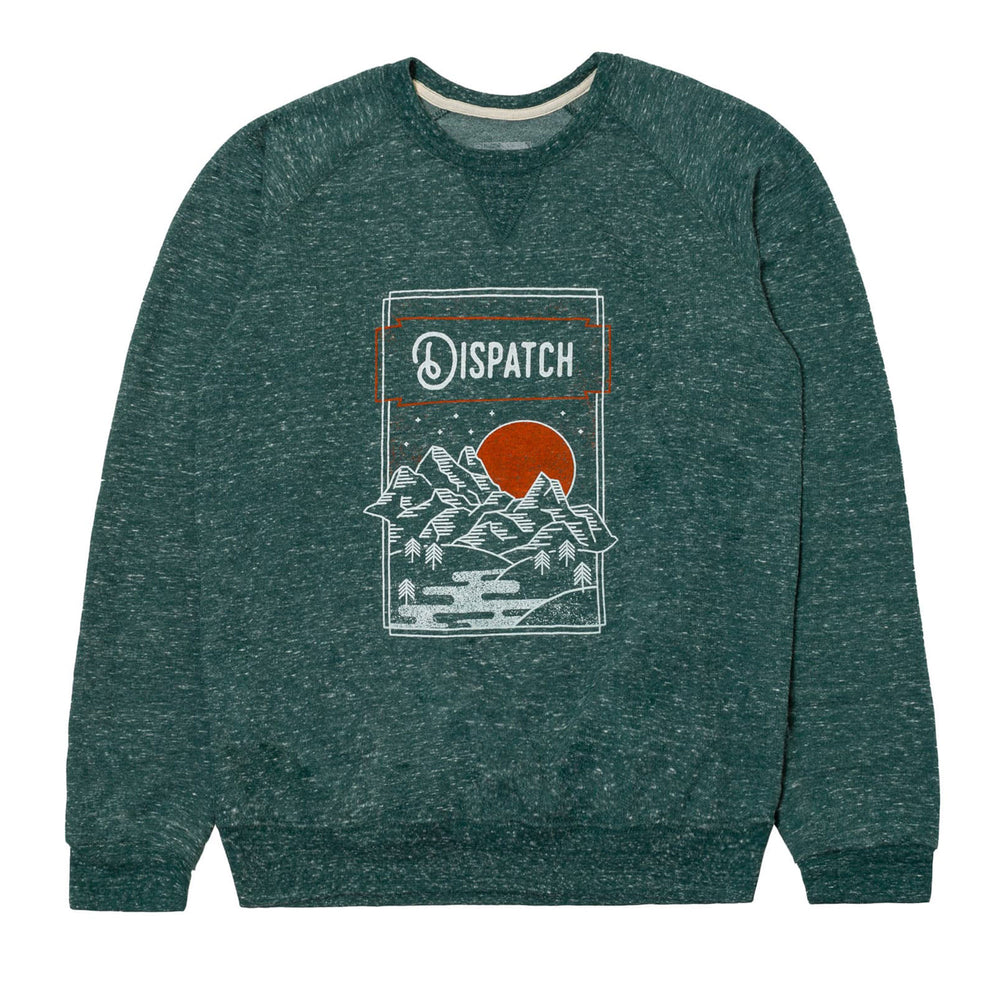 'Mountains' Crewneck Sweatshirt
