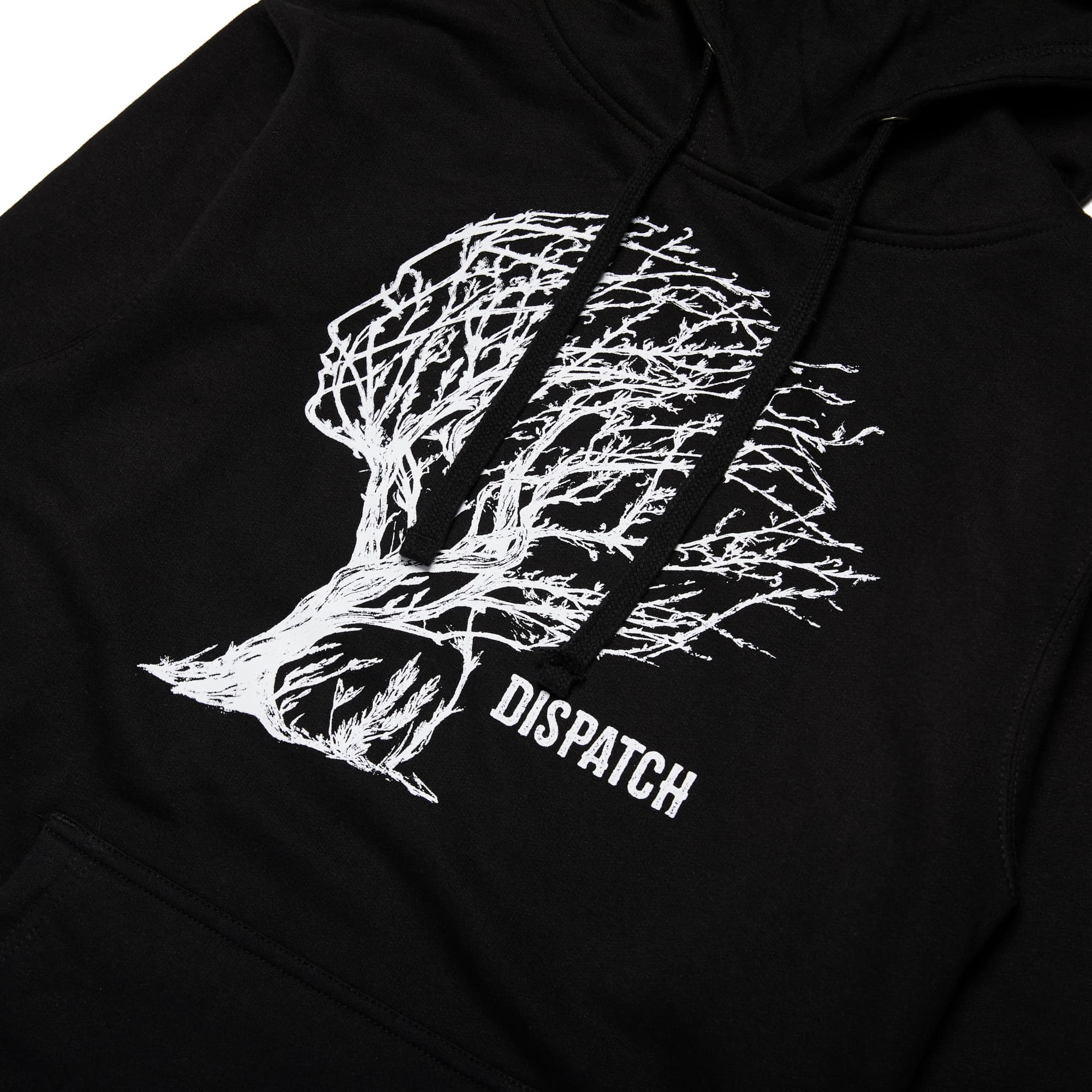'Tree Face' Pull Over Hoodie