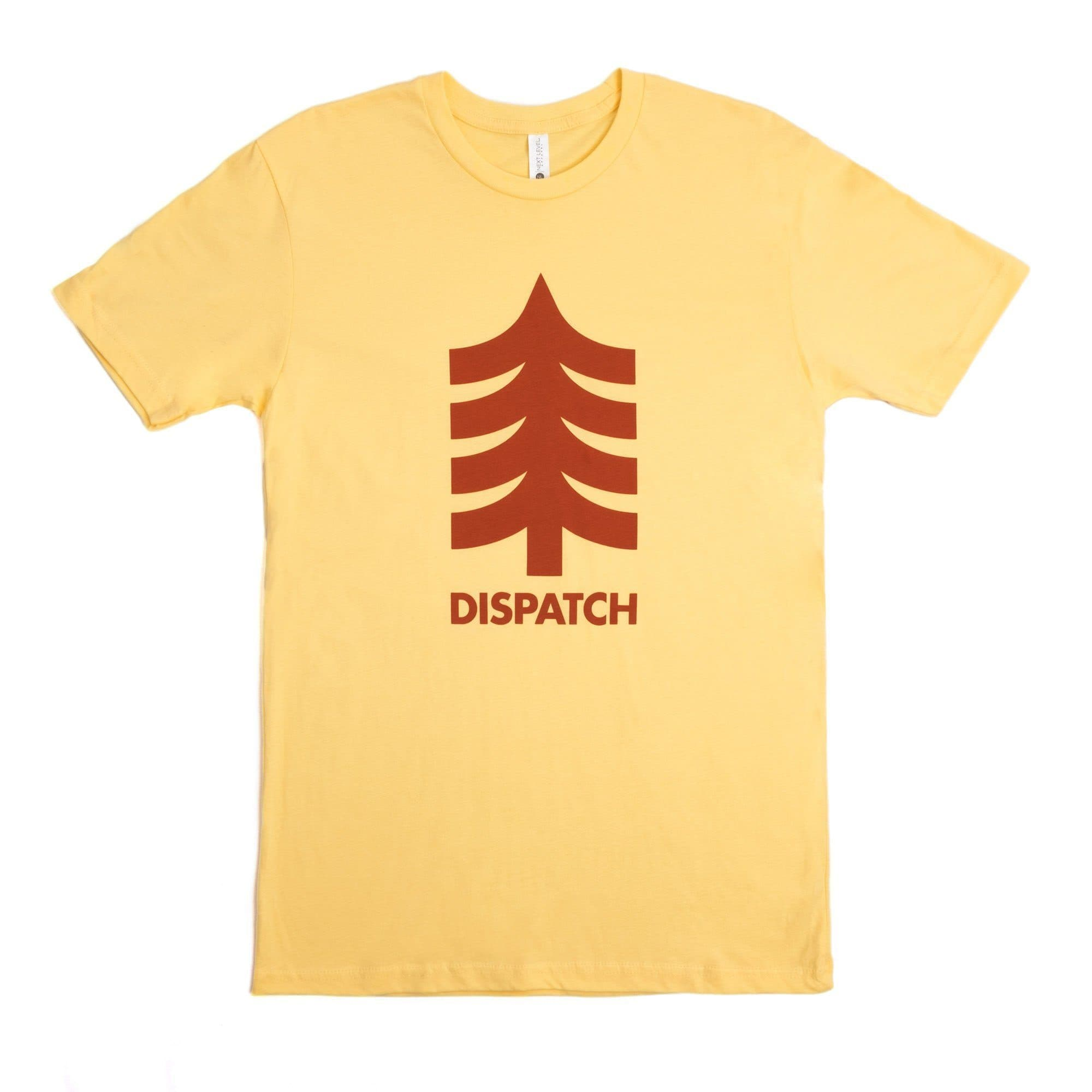 'Tree' T-Shirt - Yellow