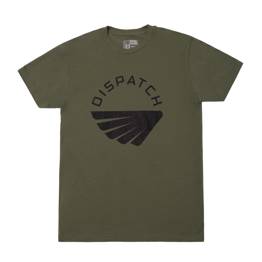 'Wing' T-Shirt - Military Green