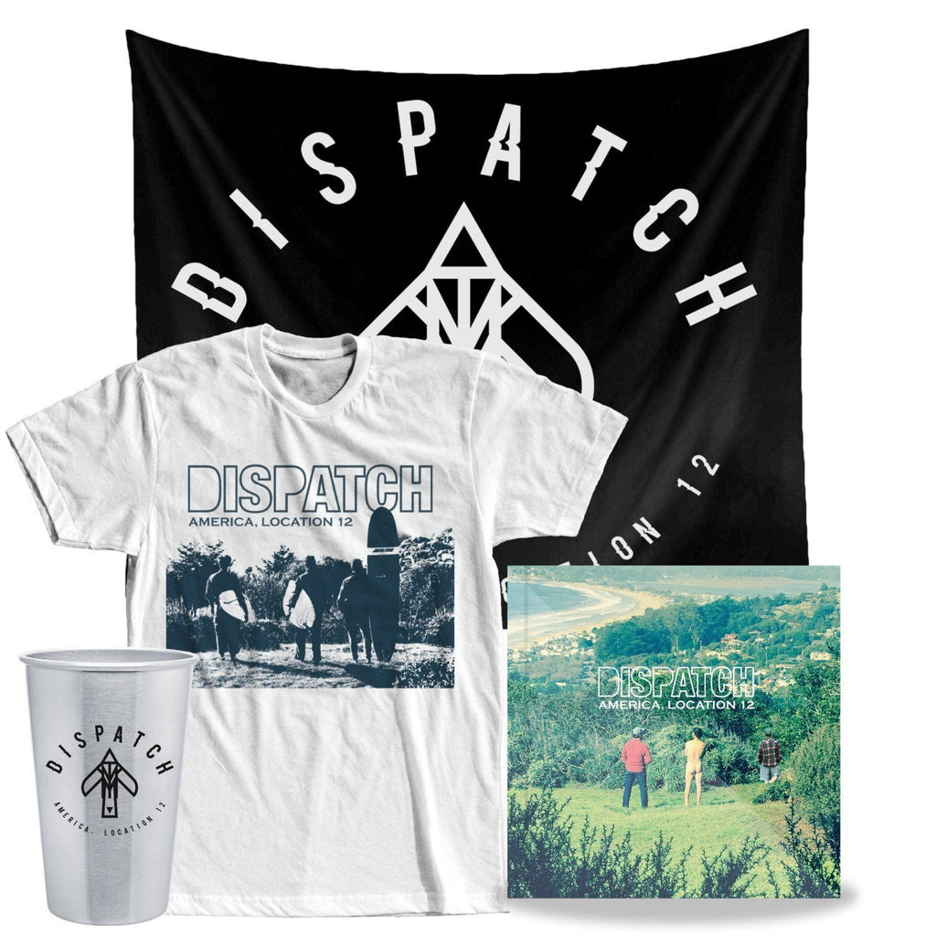 'America, Location 12' CD Bundle + MP3 Download - PREORDER (ships 5/25)