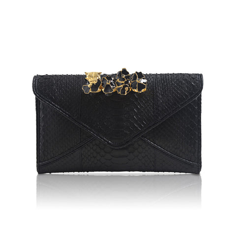 KNUCKLE RING ENVELOPE Clutch