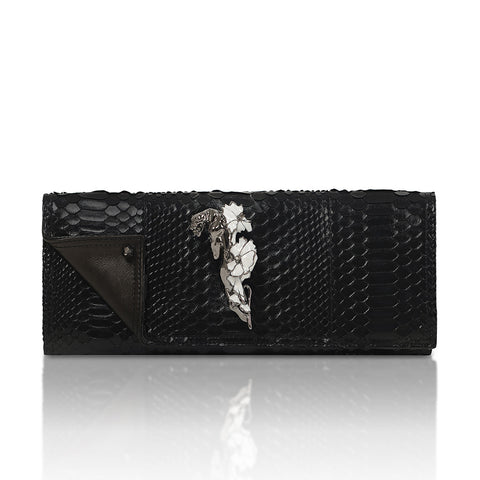 JAGUAR FLOWER FINGER RING Clutch