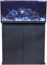 D-D REEF-PRO 900 Aquarium - Black | Deep Blue Aquatics