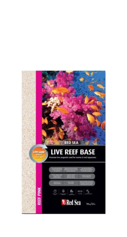 Red Sea Live Aragonite Sand - 10kg (Reef Pink) | Deep Blue Aquatics