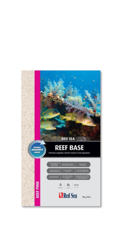 Red Sea Reef Base Aragonite Sand (Dry) - 10kg (Reef Pink) | Deep Blue Aquatics