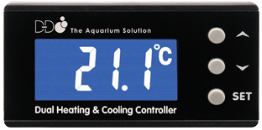 D-D Temperature Controller Screen | Deep Blue Aquatics