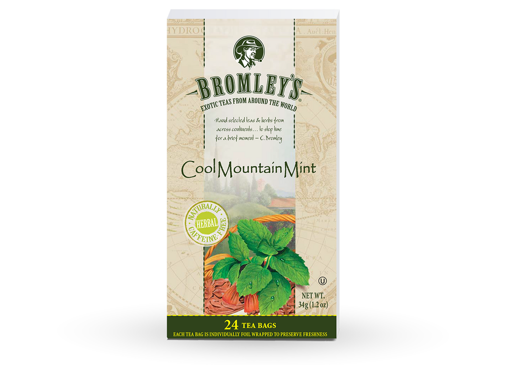 Cool Mountain Mint Tea
