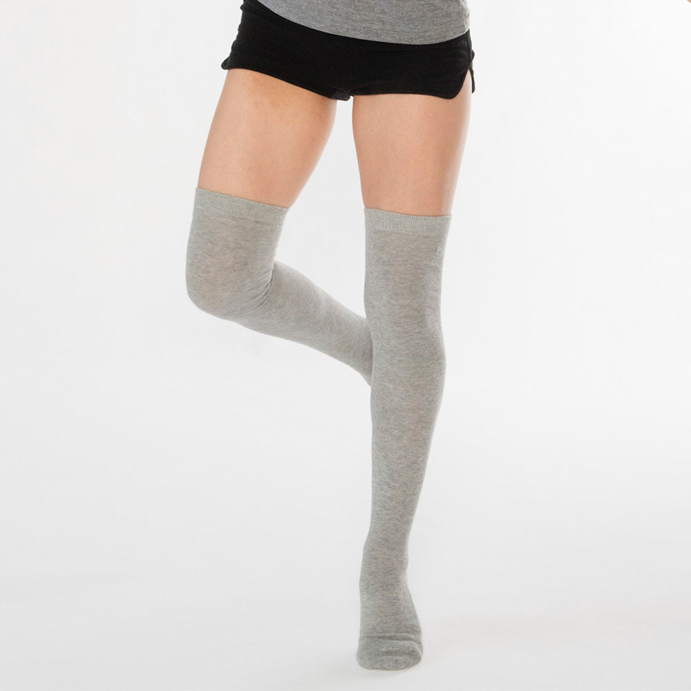 Treadfast Ceanne Yoga Thigh High Grip Socks
