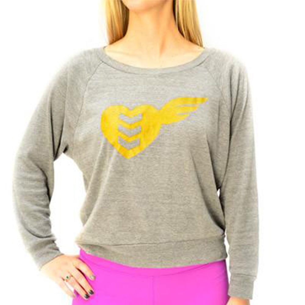 Treadfast Women's Heather Grey Pullover