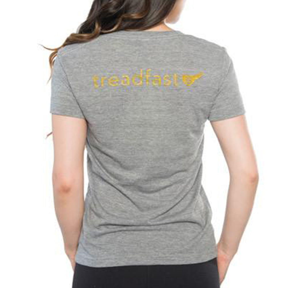 Women's Treadfast Tee Heather Grey