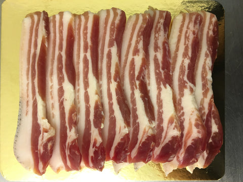 Dry Cured Smoked Streaky Bacon