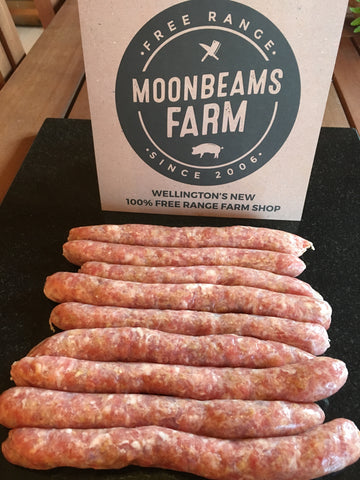 Free Range Rare Breed Traditional Chipolatta Pork Sausages