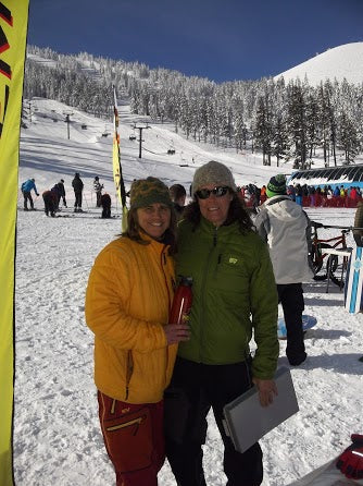 Nevado Mountain Adventures offers free demos on outdoor gear, winter wear and ski gear - owners Candace and Brenda