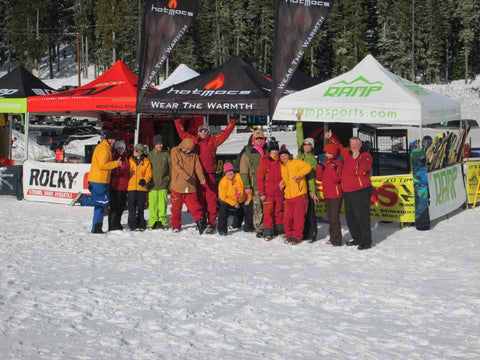 Nevado Mountain Adventures offers free demos on winter wear and ski gear