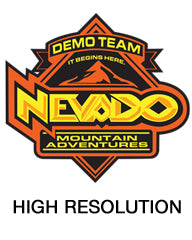 Nevado Mountain Adventures offers free demos on winter wear and ski gear - high resolution logo